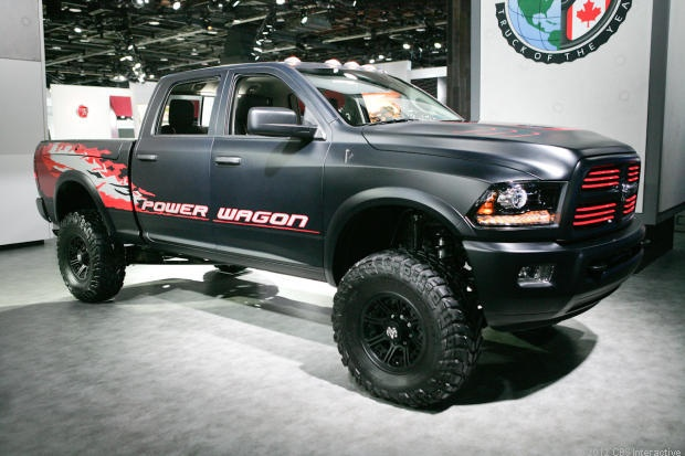Dodge Ram Power Wagon...holy shit, minus those decals and omg that is a sexy beast!!!!!