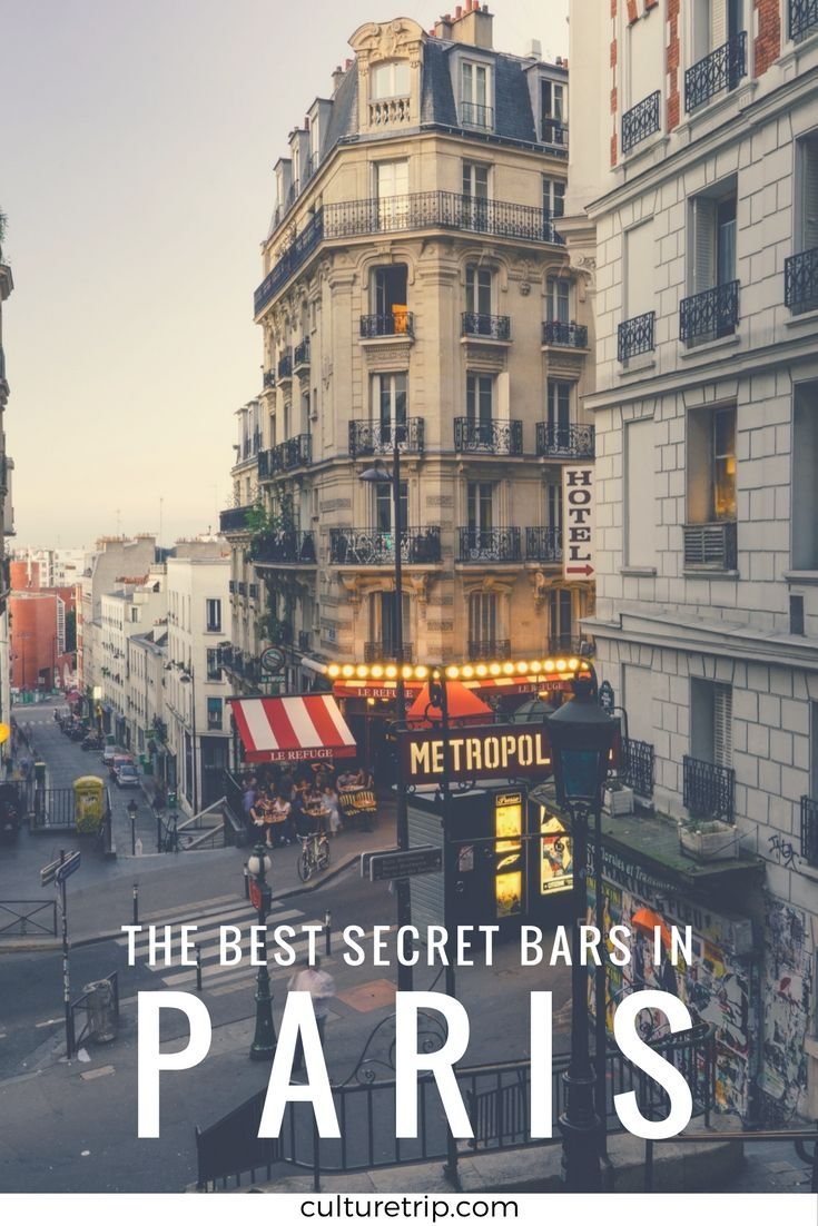 The Best Secret Bars In Paris