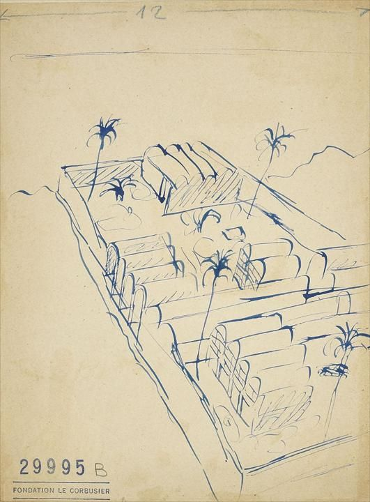 Le Corbusier Foundation - Projects - Résidence Peyrissac, agricultural estate