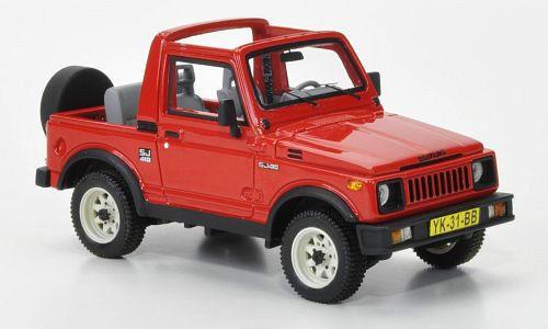 1 43 NEO Resin Model Suzuki SJ410 4WD Red 1985 Open Canopy #.44031 #NEO #Suzuki