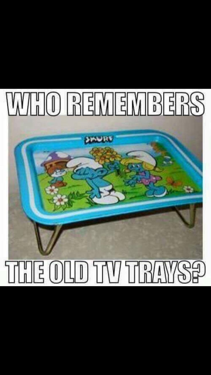 Used them while watching cartoons on Saturday mornings!