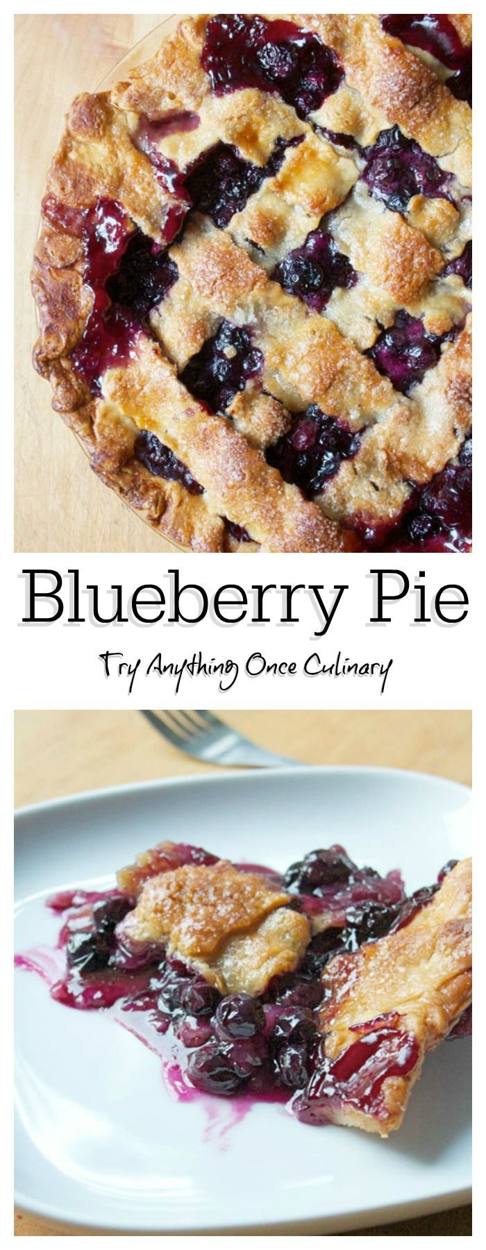 Have you ever made a blueberry pie? You should! Take a peek at my efficient way of mixing it up. :-)