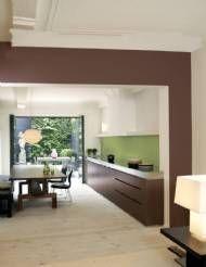 Meer dan 1000 idee n over bruin geschilderde kasten op pinterest bruine verf pantry deuren en - Keuken kleurideeen ...