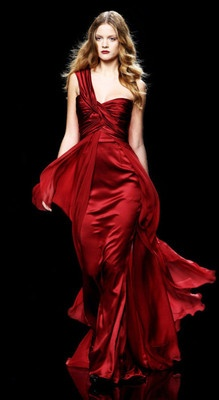 25  best ideas about Dark red dresses on Pinterest | 50s style ...