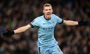 Is Edin Dzeko on his way to Arsenal?