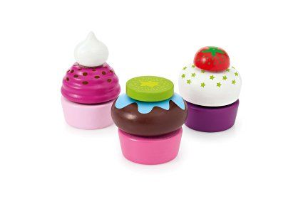 Selecta Spielzeug 1584.0 - Babyspielzeug - Cupcakes