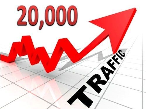 Get 20,000 Unique Real Human Visitors To Your Website Or Blog