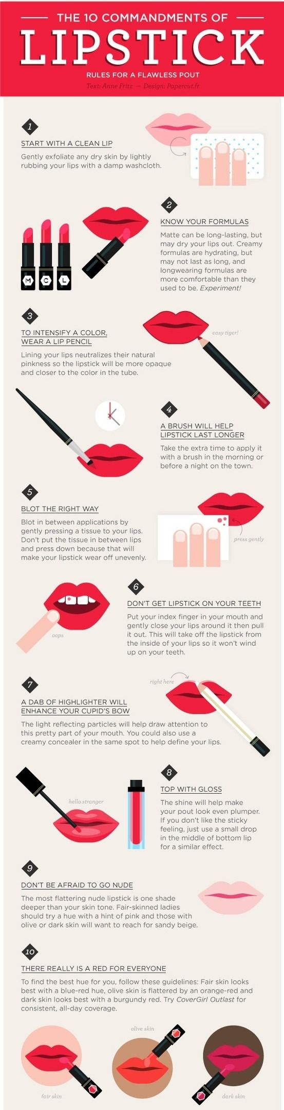 How To Properly Apply Lipstick