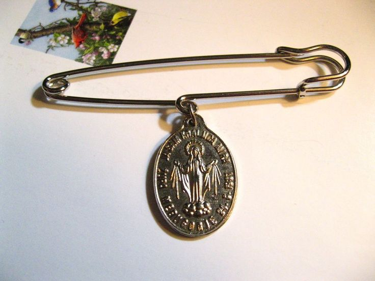 Our Lady Of Medjugorje Kilt Pin - Croatian Apparition Virgin Mary Catholic Medal