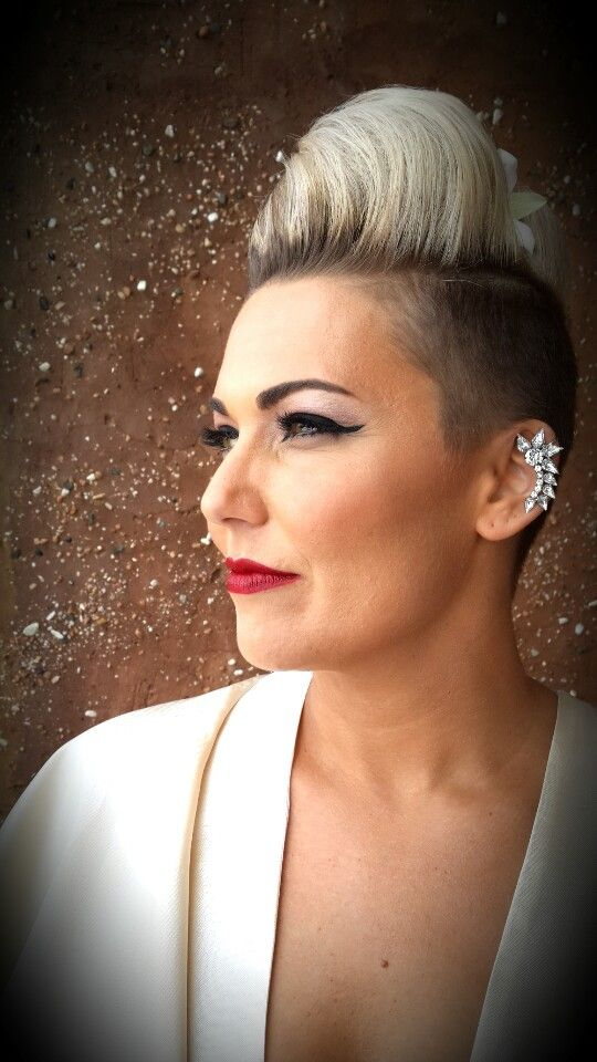 Gorgeous Kerry on her wedding day. Makeup by Charelle-www.facebook.com/MakeupByCharelle Hair by Drew Christie-evolve@comit.co.za