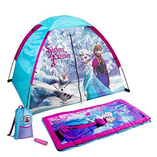 Disney Youth Frozen Discovery Kit Tent. For product & price info go to:  https://all4hiking.com/products/disney-youth-frozen-discovery-kit-tent/
