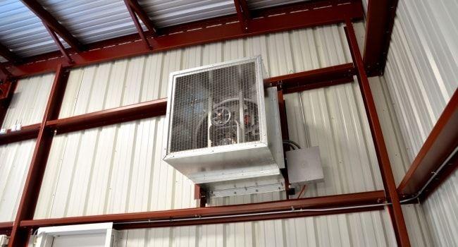 building ventilation metal buildings