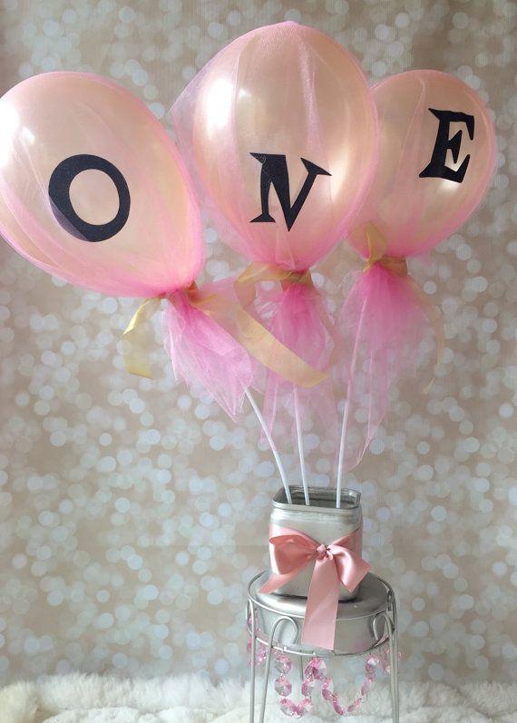 Personalized Balloons- Party Decoration - Balloon Decor - Balloon Garland Decoration - Tulle Balloons- Sparkle Balloons- Balloon Centerpiece