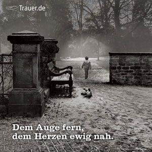 Trauerspruch der Woche | Trauer & Trost | Trauer.de