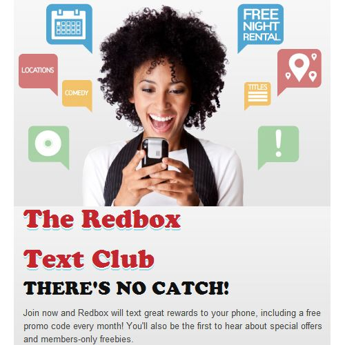 1 Free Redbox DVD Rental Each Month