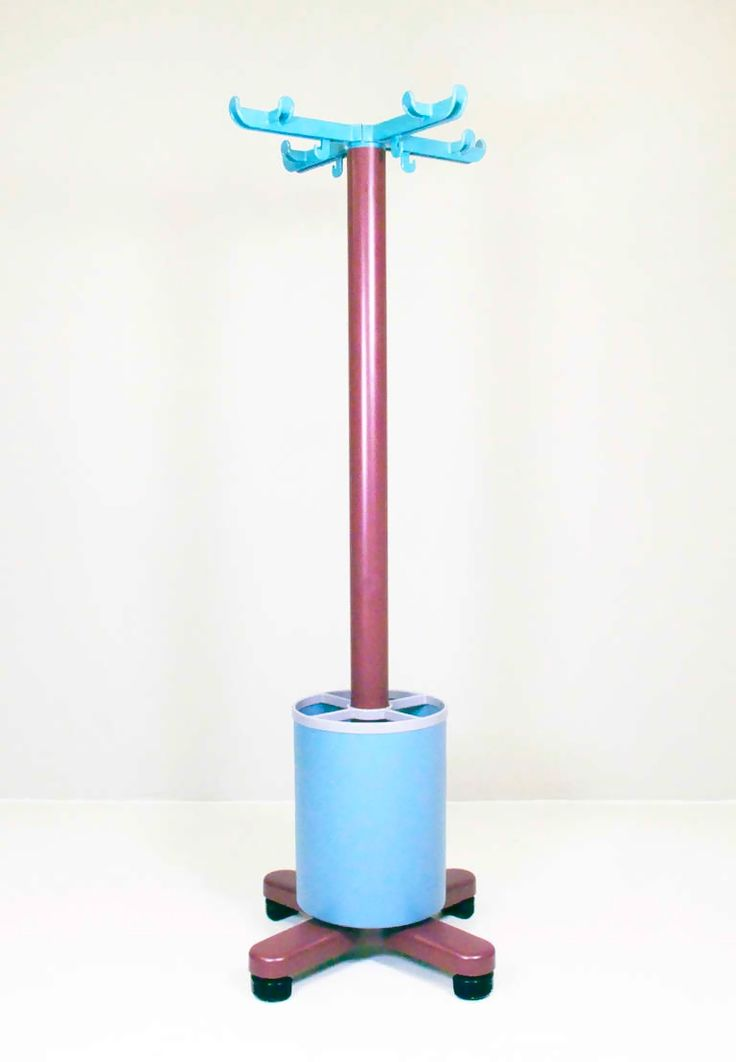 Ettore Sottsass; Plastic 'Synthesis 45' Coat Rack for Olivetti, 1973.