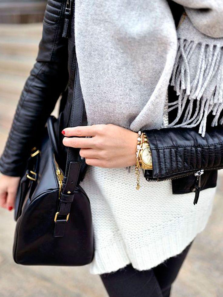 Fashion Fix: Grijze sjaal
