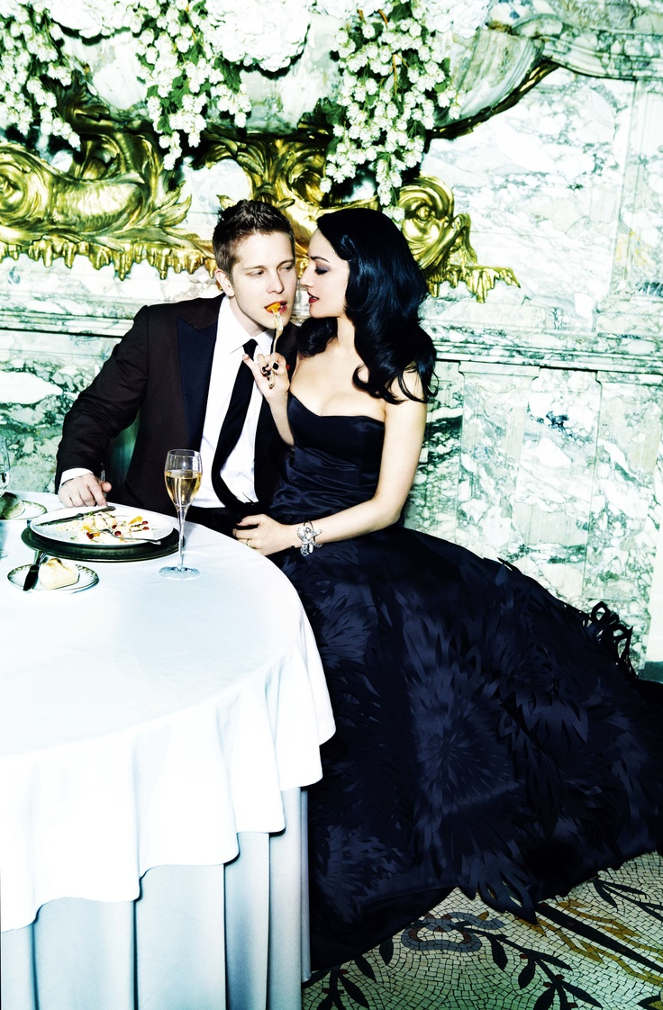 The Good Wife's Archie Panjabi & Matt Czuchry | Sexy Rendezvous in the City of Light | Ellen Von Unwerth