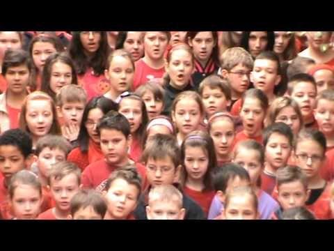 """▶ Kanizsai Dorottya Általános Iskola - """"Öltözz pirosba!"""" - YouTube"""