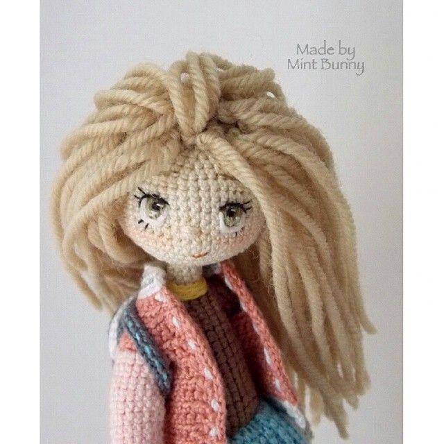 Amigurumi doll by Mint bunny. (Inspiration).