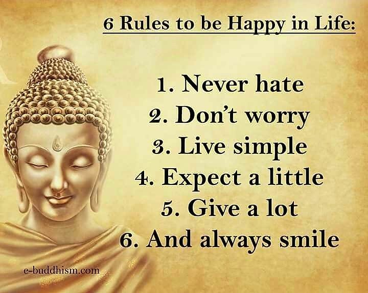 Tips for a happy life. #life #happiness #quotes #mantra #love #buddha  Shop quality loose leaf teas at Teatrition.com
