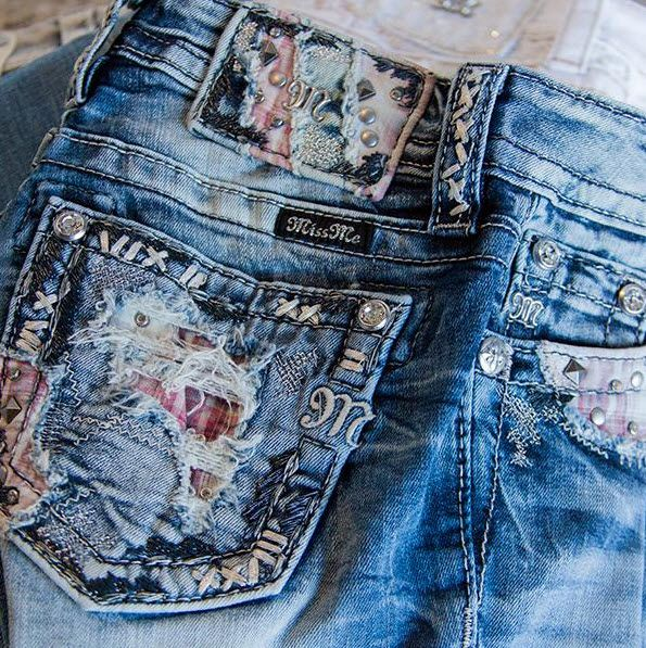 It's all about the details with Miss Me Denim!