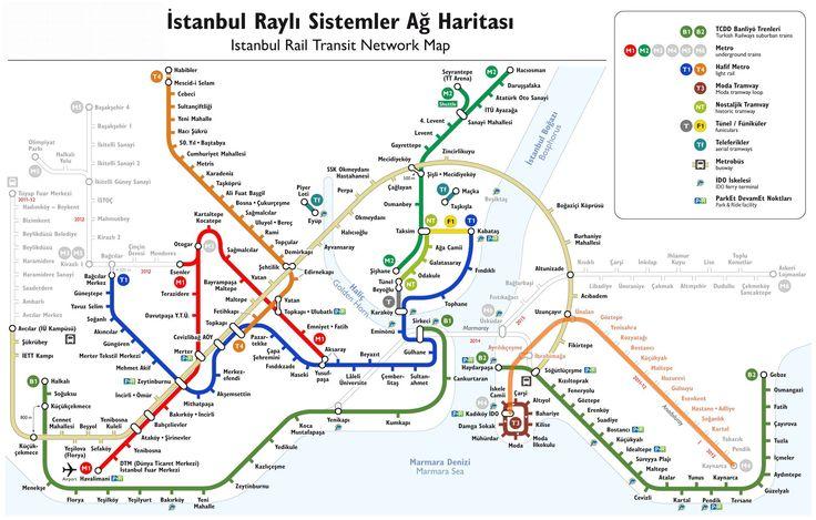 İstanbul Metro ve Metrobüs Hatları, Metrobüs Durakları, Metro durak isimleri http://www.rayhaber.com/2012/istanbul-metro-ve-metrobus-hatlari/