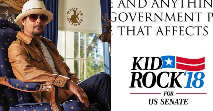 Kid Rock has a simple message for Michigan voters...