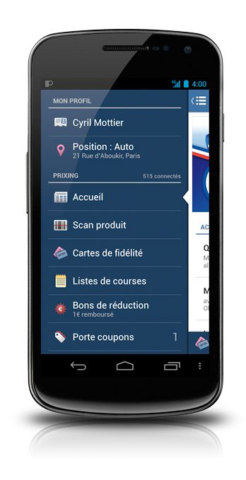 The Making of Prixing #1: Fly-in App Menu - Cyril Mottier