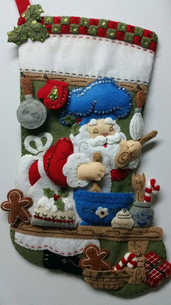18 Completed Hand Sewn Bucilla Christmas by StacysStampinSpot