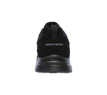 Skechers Men's Burns Agoura Memory Foam Training Shoes (Black/Black)