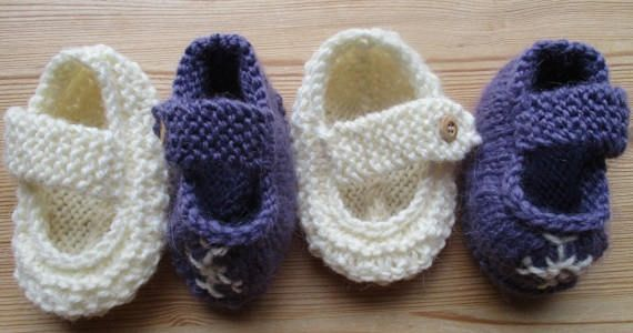Knitted Baby Girl Booties Cute Booties Baby girl shoes Baby