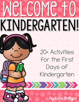 This pack includes back-to-school activities that you can use during the first few days of kindergarten. Whether it's your first time teaching kindergarten or you've taught for dozens of years, you'll love this pack!
