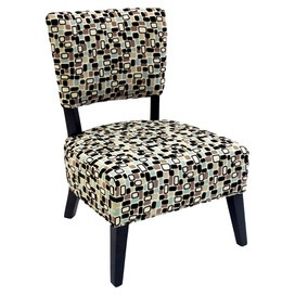 I pinned this from the Armen Living - Trendsetting & Contemporary Furniture event at Joss and Main! It's the same fabric I used to recover chairs at my husband's office!