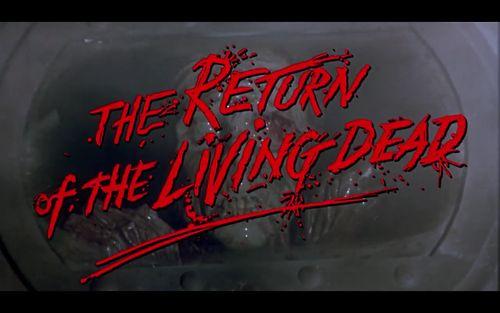 stanleykoobrick The Return of the Living Dead (1985) //...