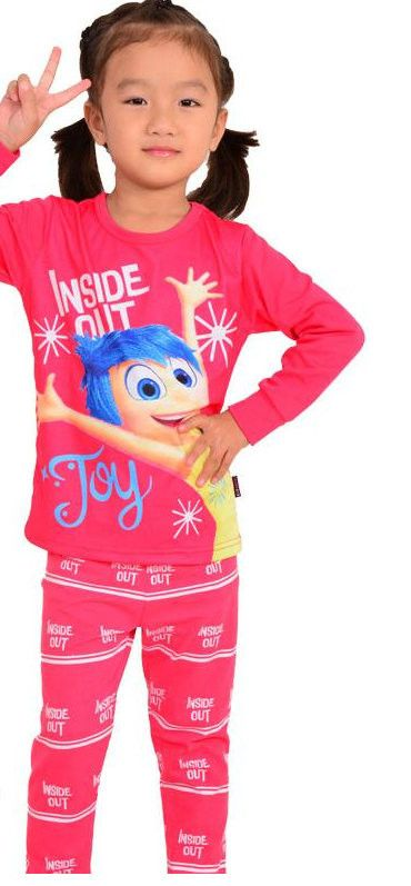 Inside Out Pajamas Sleepwear 7 Styles Boys Girls Sizes 2T-7 All Characters Joy Sadness Bing Bong