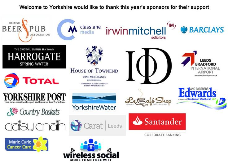 Proud sponsors of the White Rose Tourism Awards 2013 Yorkshire