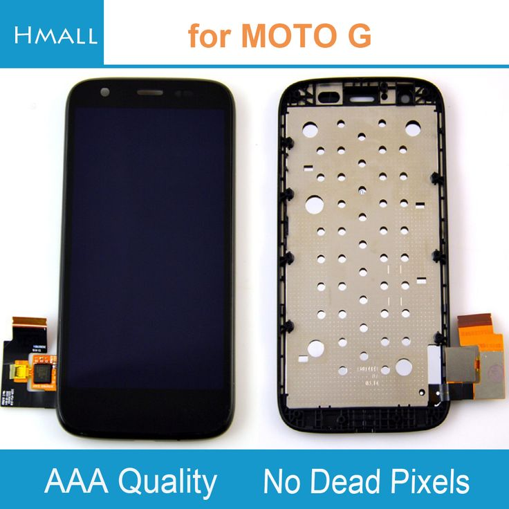 LCD Display For Motorola Moto G LCD Screen XT1032 XT1033 Display Digitizer Touch Screen Assembly Replacement With Frame Black