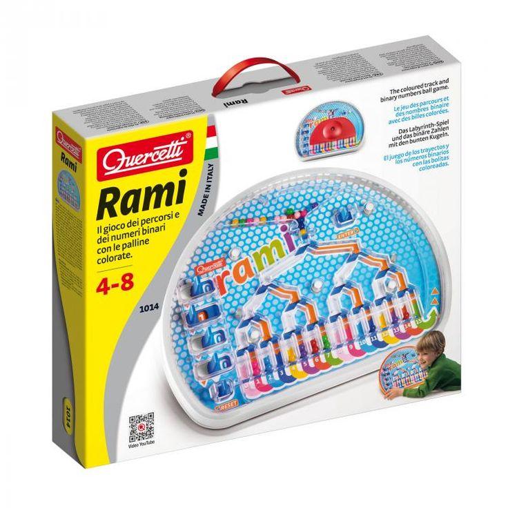 Quercetti Rami színkirakó játék