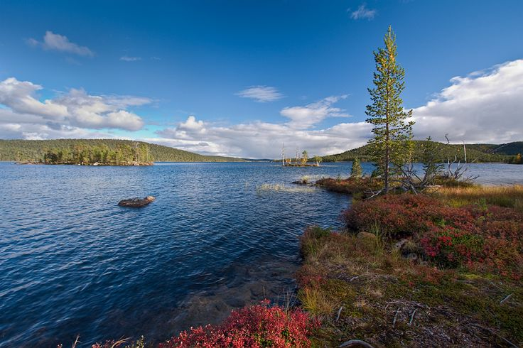 Lake Inari... I think everything the Kalevala says is true... Finland is fantastic!