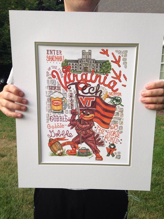Hey, I found this really awesome Etsy listing at HappyPlacePrints https://www.etsy.com/listing/244252532/virginia-tech-print-wall-art