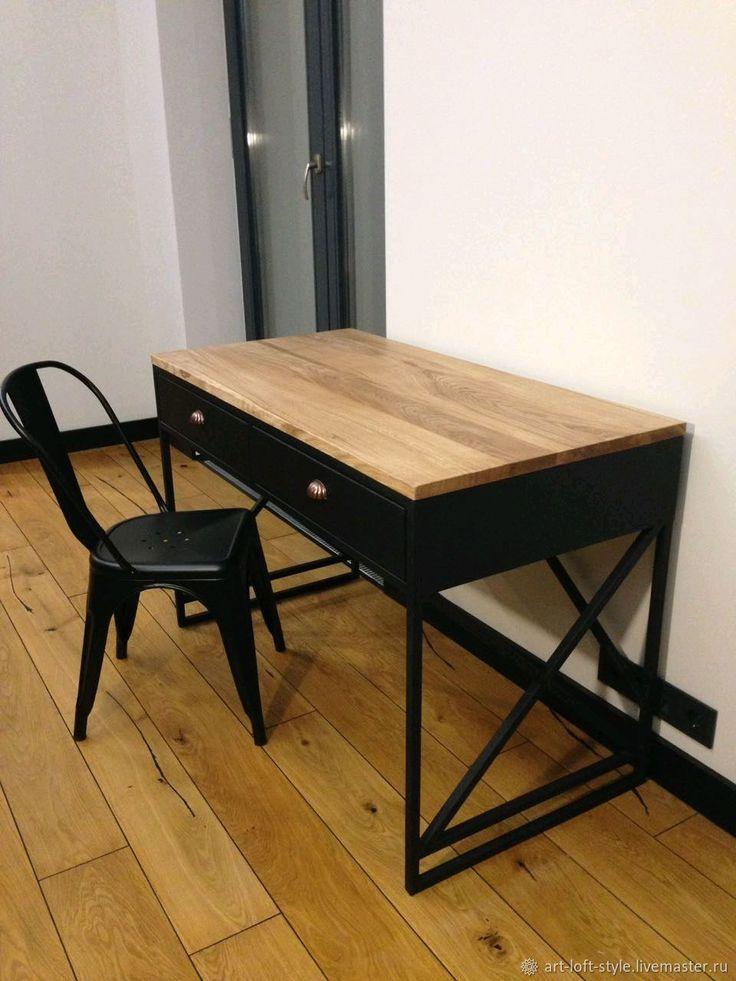 Рабочий стол в стиле лофт – купить в интернет-магазине на Ярмарке Мастеров с доставкой