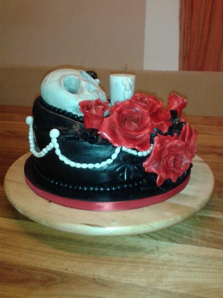 Skull cake, Totenkopftorte