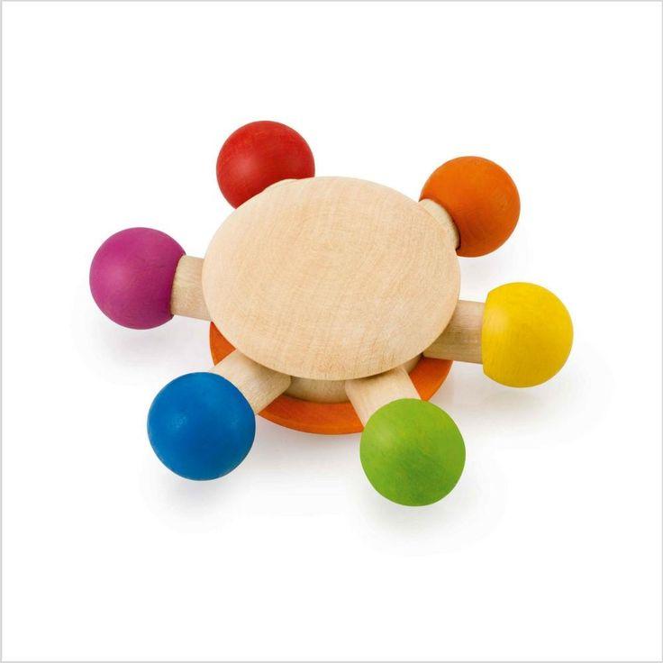 Carusel multicolor cu sunete pentru bebelusi - jucarii educative si carti educative Pupo