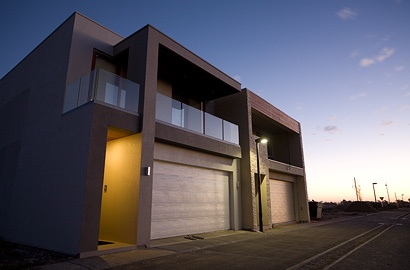 Frontage of our Lightsview Terrace Display Home, open by appointment.