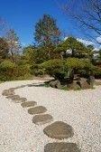 Azie wagen  zonnige dag in Zen tuin, Tokyo Japan stock photography
