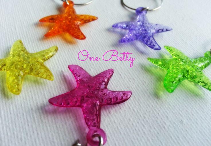 Bright starfish #winecharms #onebetty #madeitau
