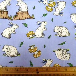 Bunny Rabbits Children Cotton Fabric