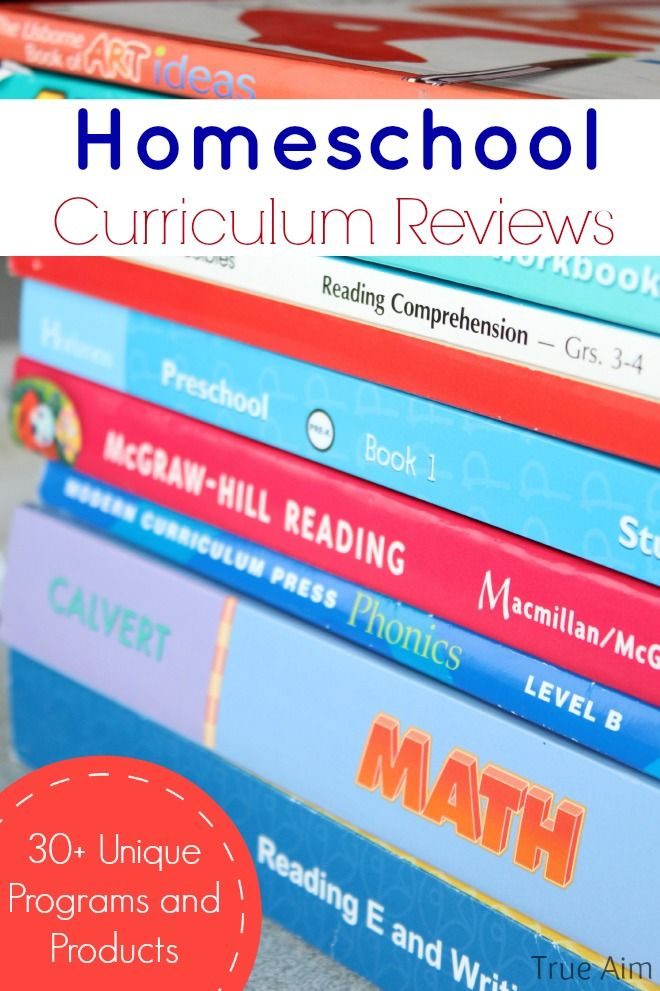 Homeschool Curriculum Reviews - 30 reviews on unique programs and products to help you homeschool.