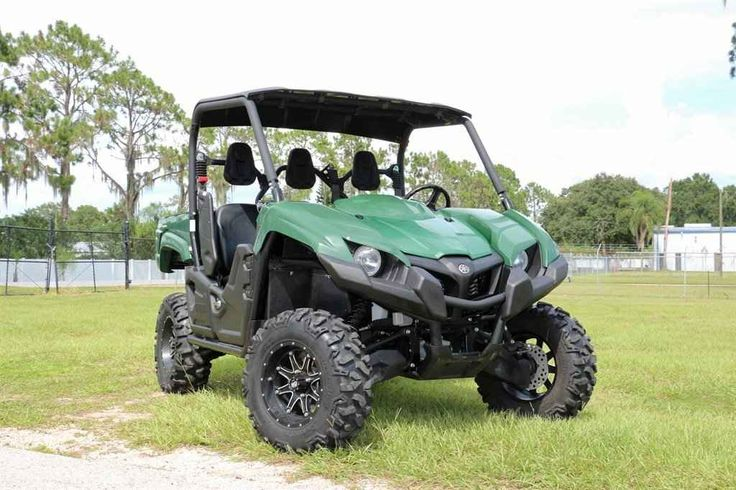 Used 2014 Yamaha Viking 700 EPS ATVs For Sale in Florida. 2014 Yamaha Viking 700 EPS , Getting up and over obstacles on the trail is not a problem at all with the 11.8 inches of ground clearance available on the Viking. The four-wheel independent suspension also allows the machine to flex its muscles over a wide variety of terrain and with A-arms getting 8.1 inches of travel, both front, and rear, the Viking has a good reach to even out the nastiest trails. 2014 Yamaha Viking 700 EPS 58/hrs…
